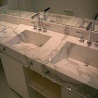 Bancada de Mármore para Banheiro - 1
