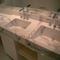 Lavatórios de Banheiro em Mármore - 1
