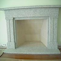 Pedra de mármore para lareiras