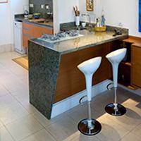 Pia de cozinha de granito - 1